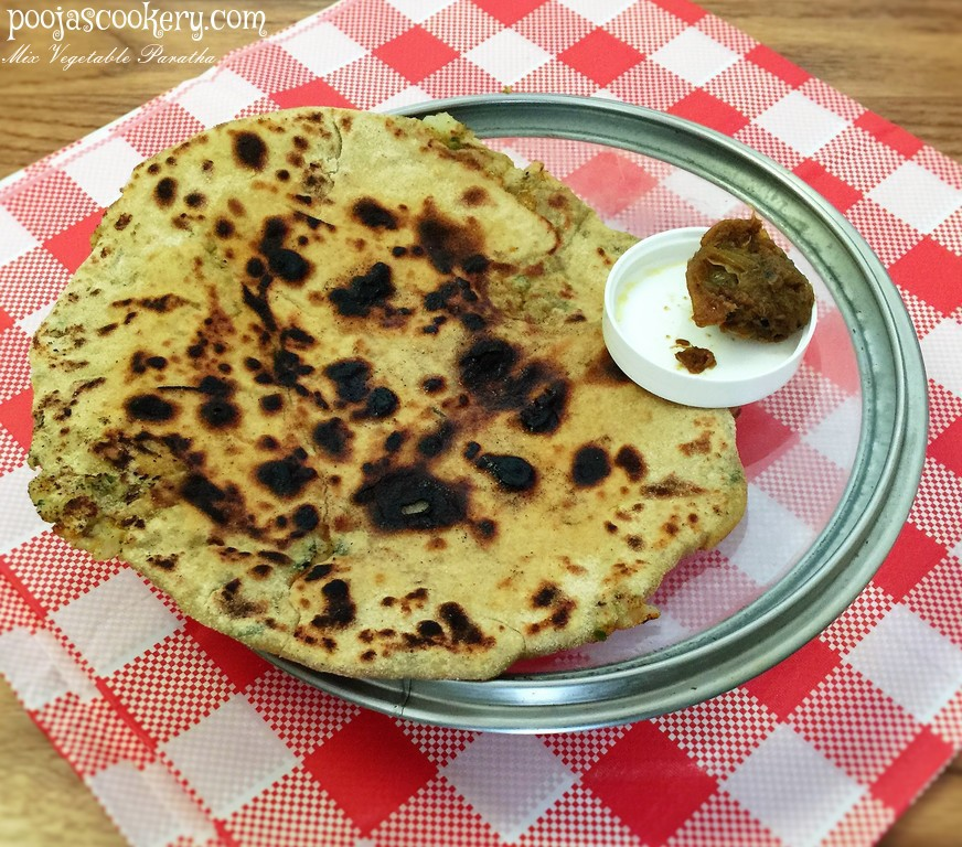 Mix Vegetable Paratha / veg paratha / vegetable Mix Paratha