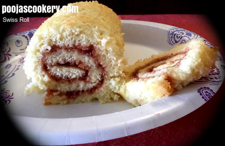 Swiss roll recipe swiss roll cake recipe swiss roll sponge recipe recipe image forumfinder Choice Image
