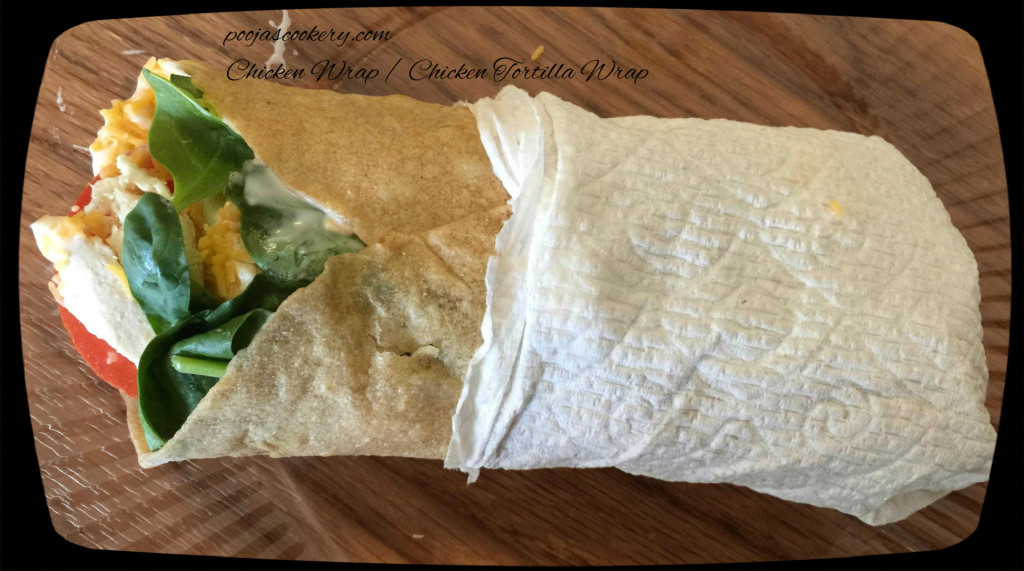 Quick Chicken Wrap /McDonald's style