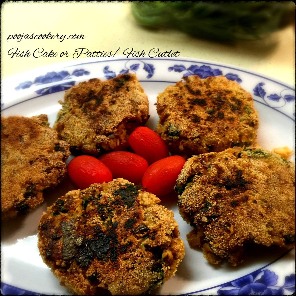Fish Cake or Patties/ Fish Cutlet | poojascookery.com