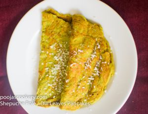 Shepuche Pole / Dill Leaves Pancakes