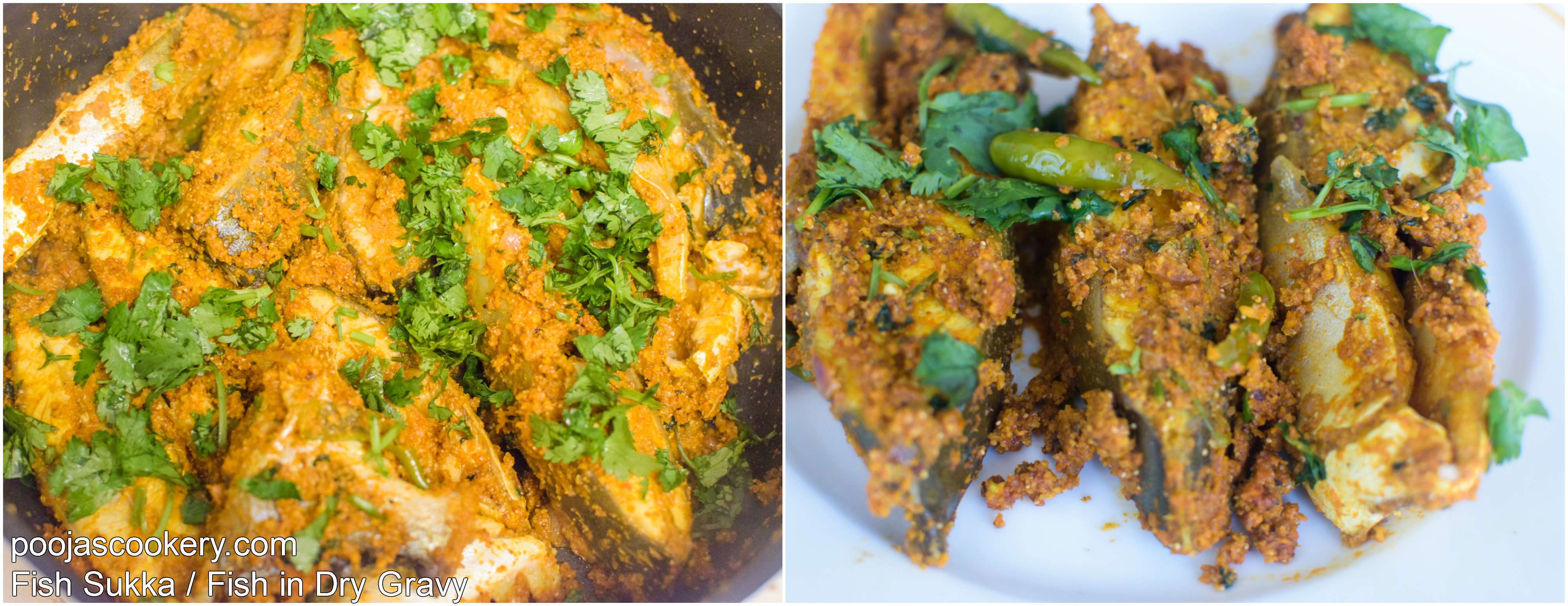 Coriander leaves sprinkled and served | poojascookery.com