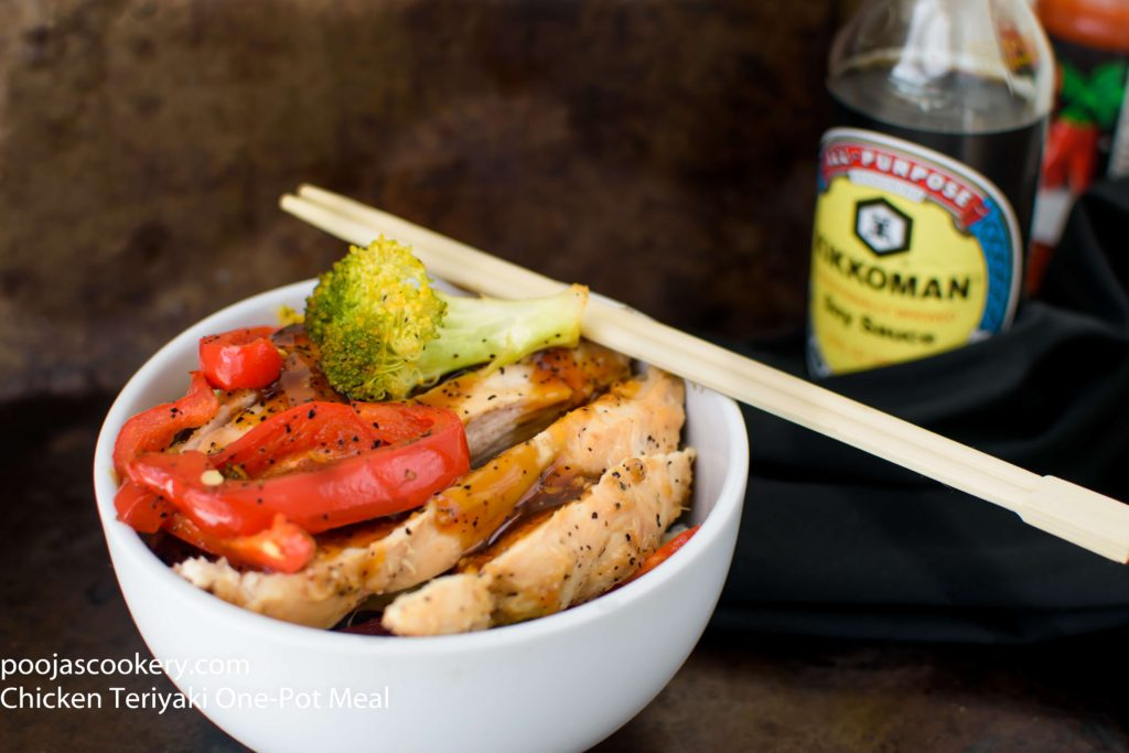 Chicken Teriyaki One-Pot Meal | poojascookery.com