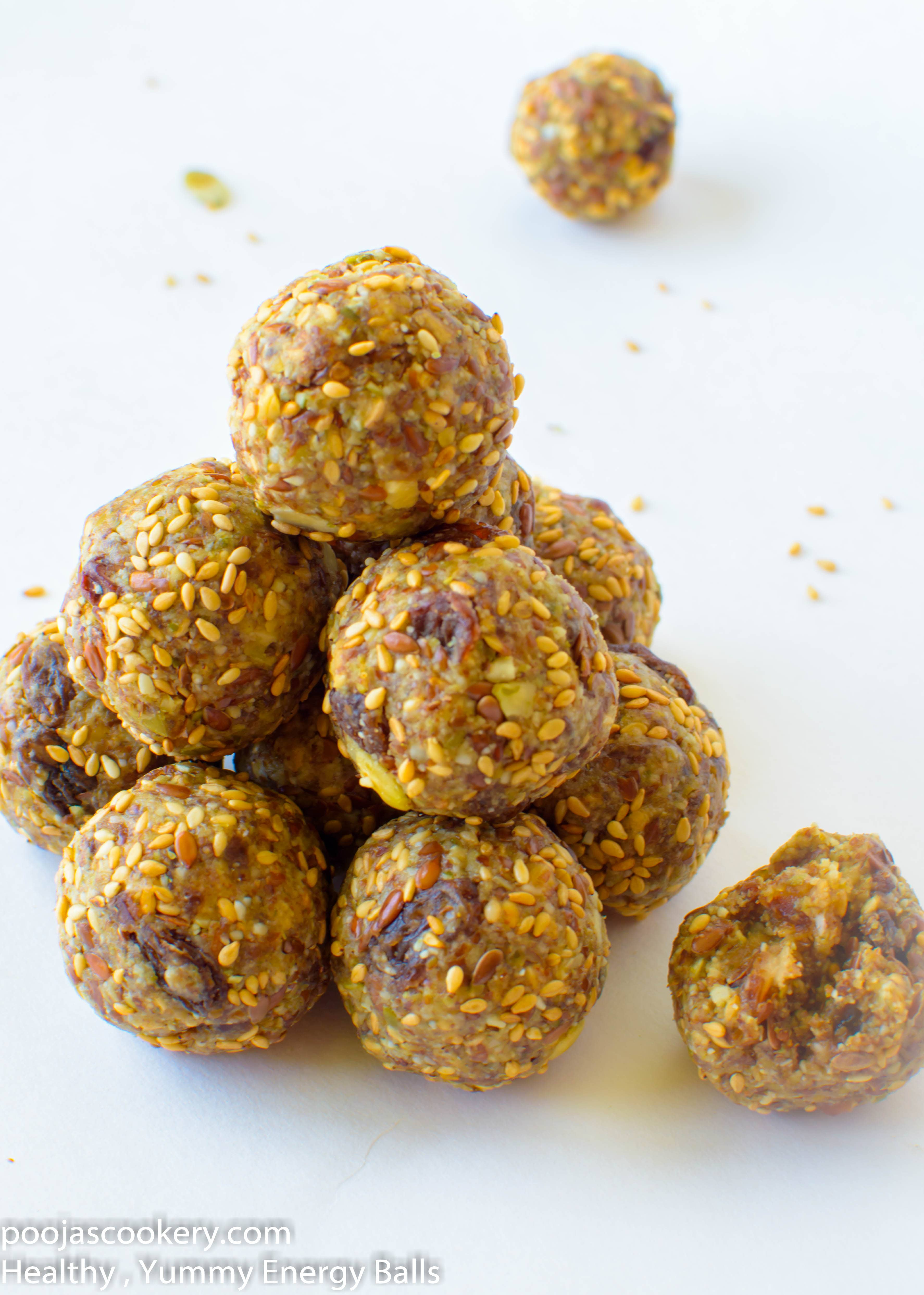 Healthy , Yummy Energy Balls