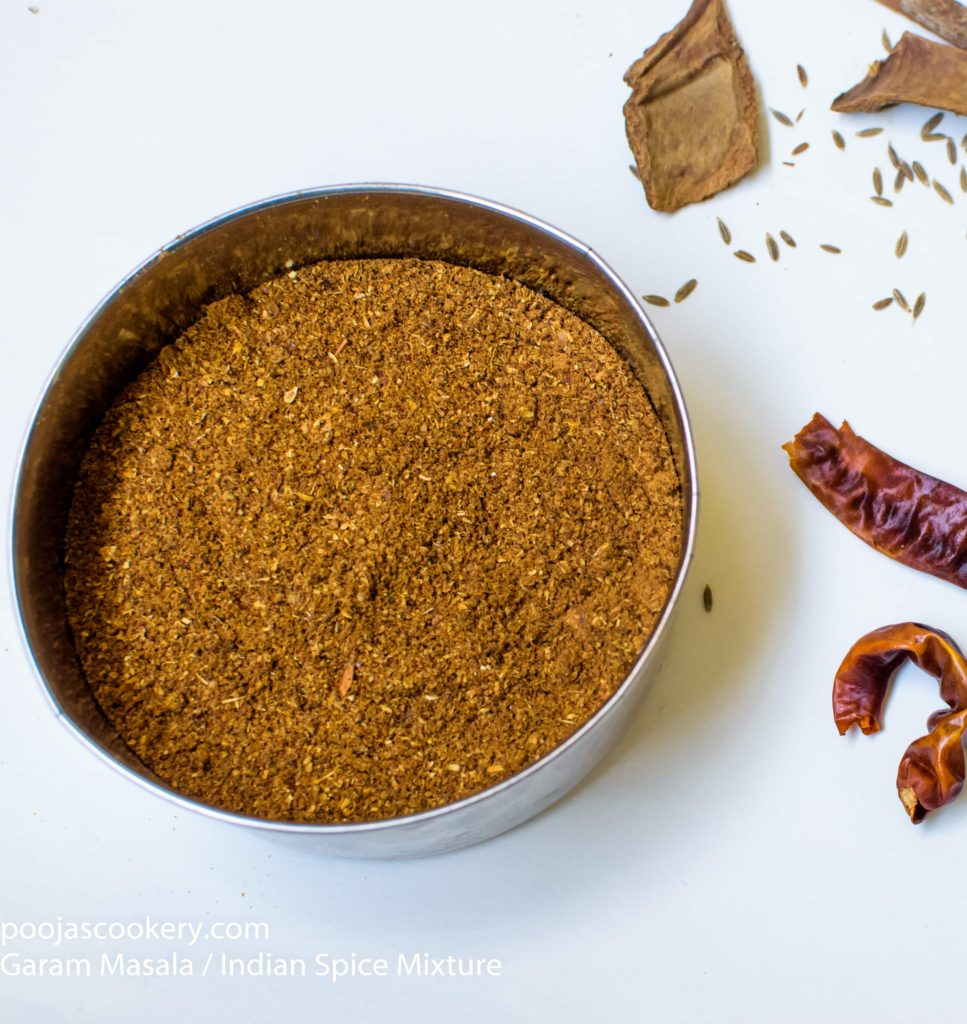 Garam Masala / Indian Spice Mixture | poojascookery.com