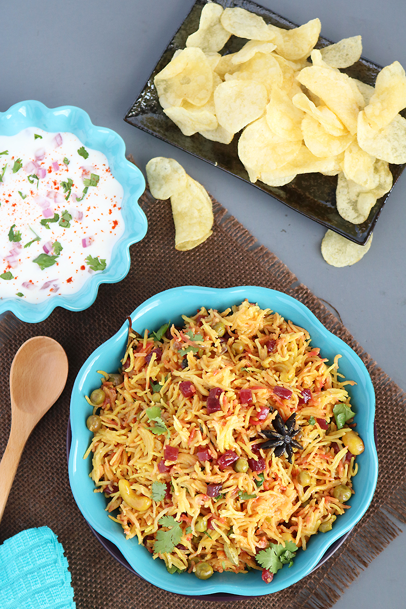 Delicious global vegetarian recipes poojas cookery peas and beetroot pulao poojascookery forumfinder Image collections