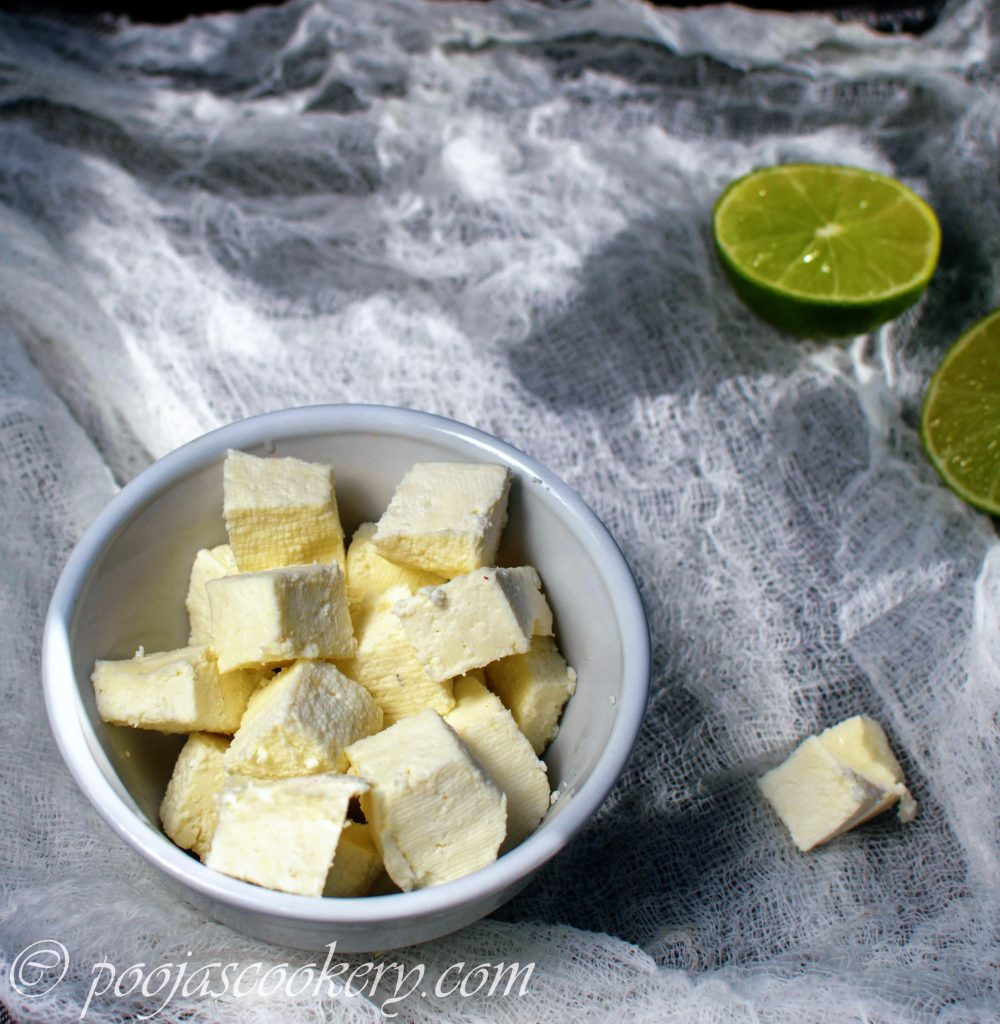 Homemade-Paneer -Indian-Cottage-Cheese