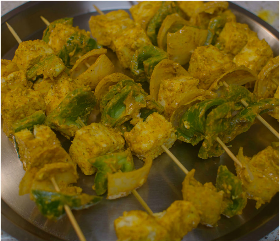 Thread in skewers|poojascookery.com