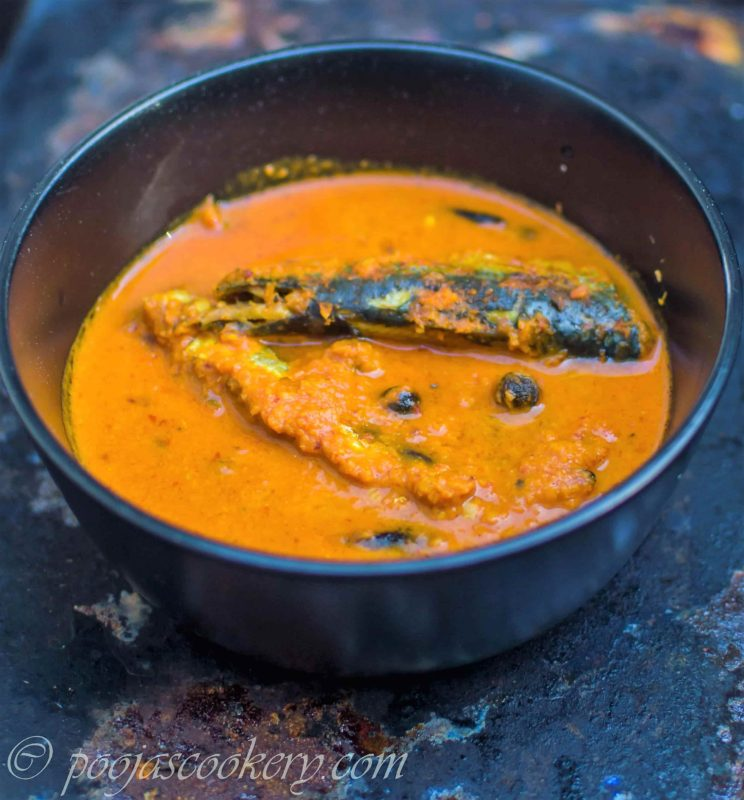 Goan special archives poojas cookery goan style tallyanche hooman sardine curry forumfinder Images