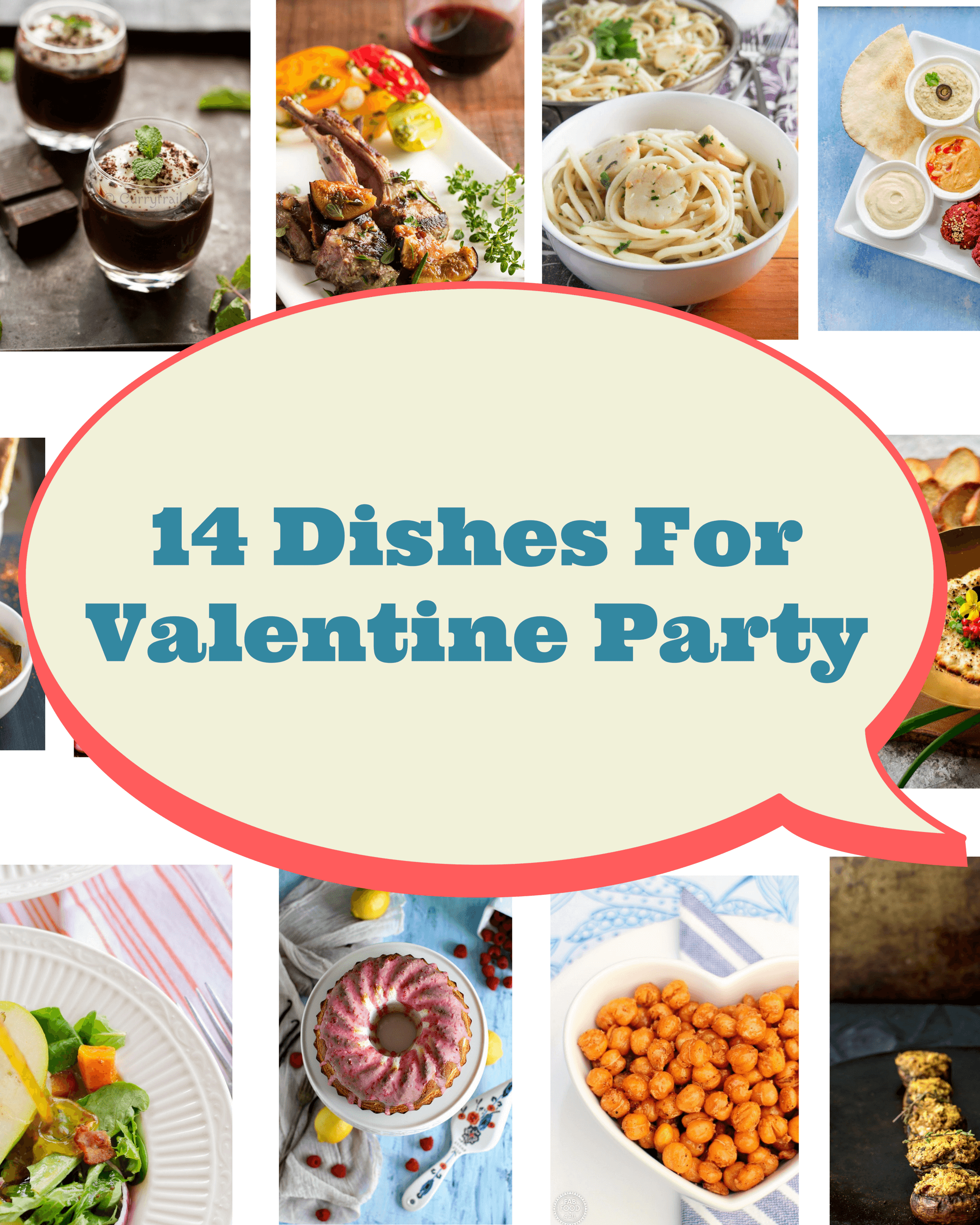 14 Dishes For Valentine Party|poojascookery.com
