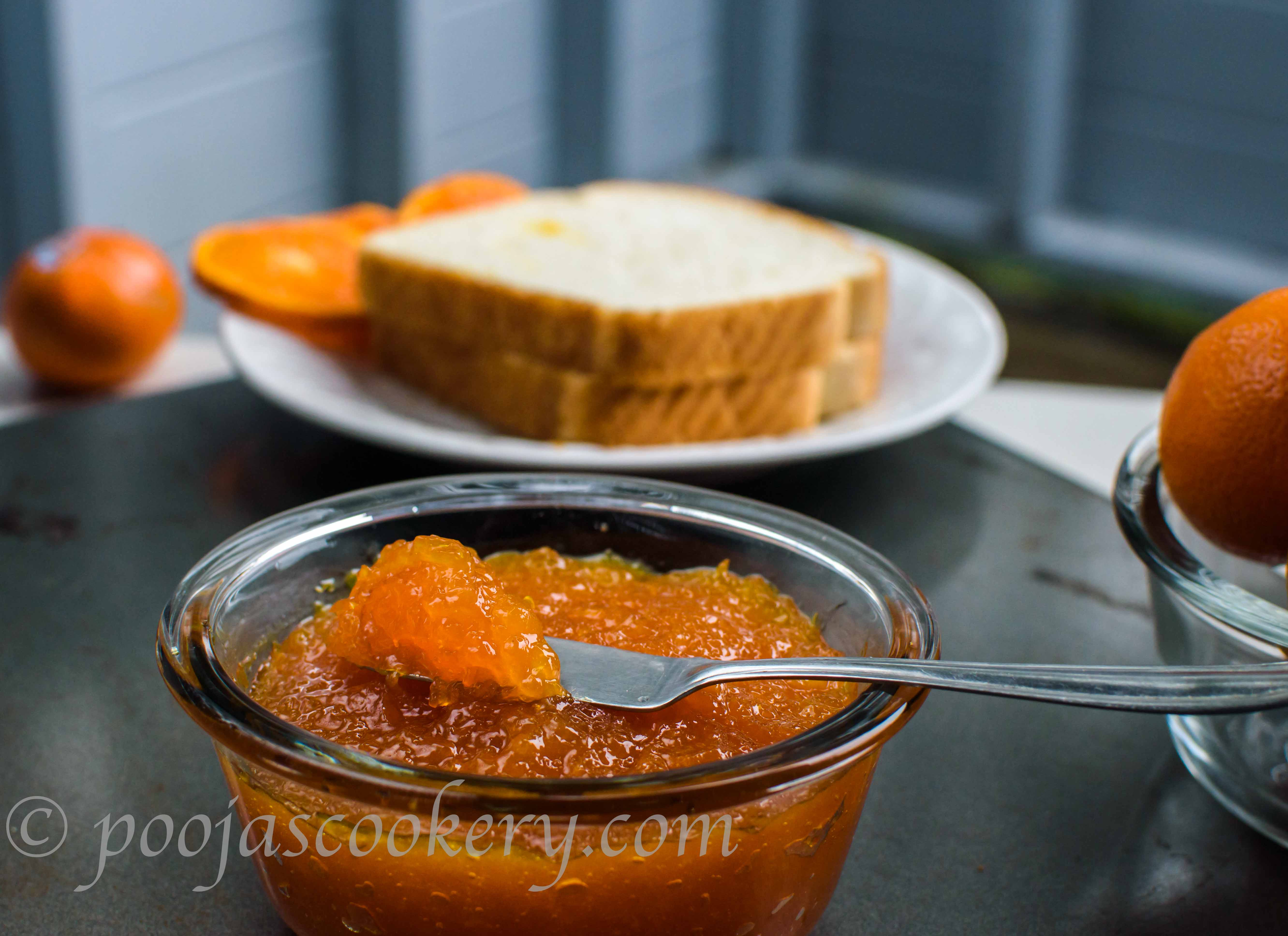 Navel Orange Marmalade/ Ground Goat Soup|poojascookery.com