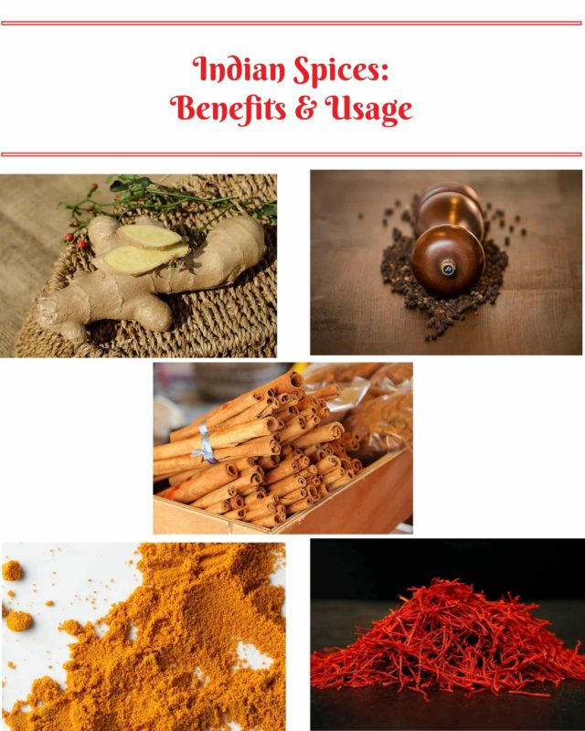 Indian Spices- BENEFITS AND USAGE-min