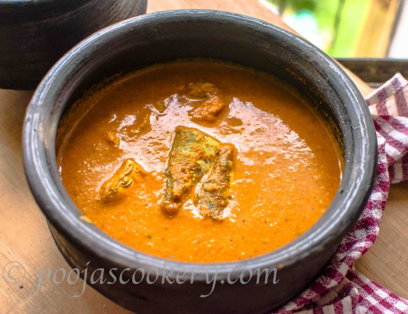 Bandyachi Uddamethi / Goan Mackerel Curry
