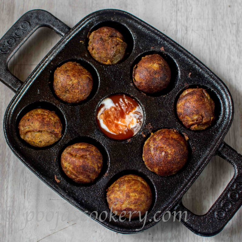 Cheese Stuffed Mashed Potato Balls Without Deep Fry