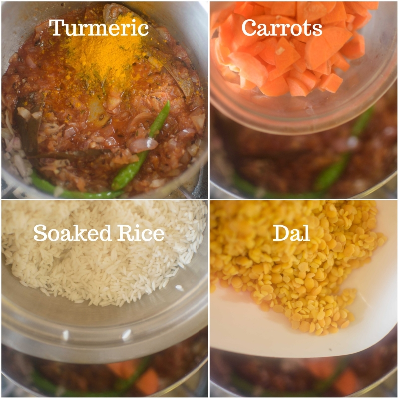 Turmeric and other ingredients