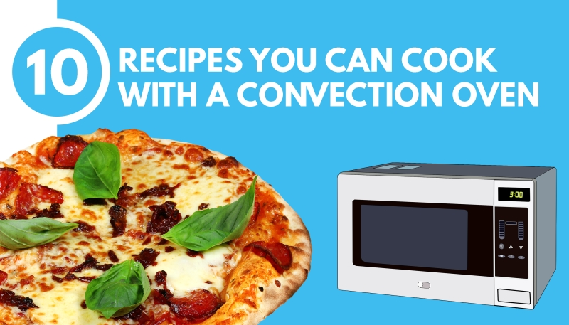 Food With Convection Microwave Oven