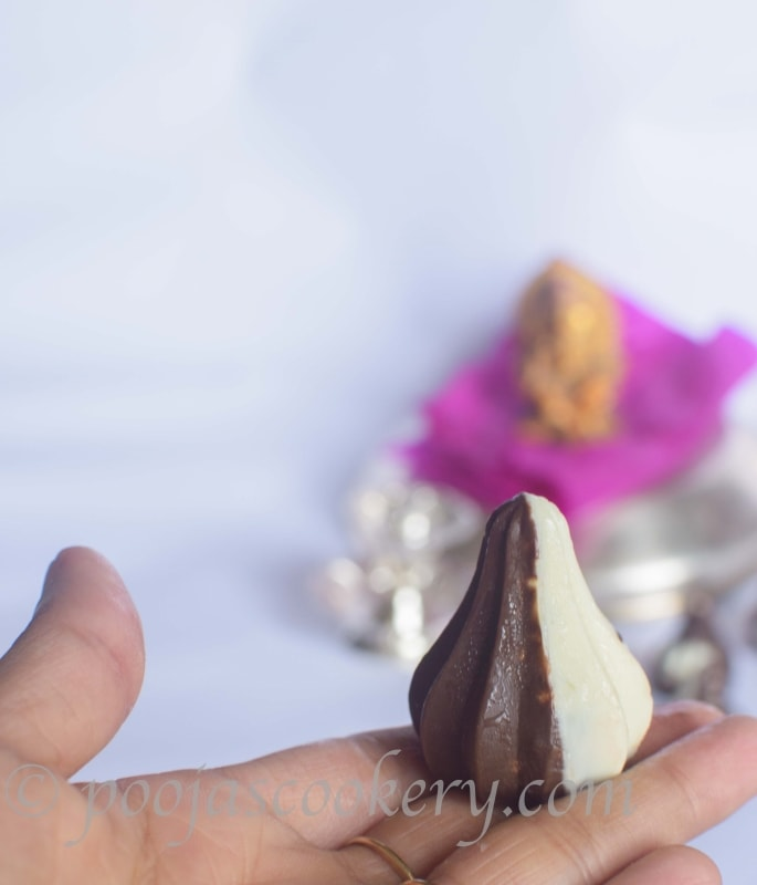 Easy Modak Recipe/Quick Chocolate Modak Recipe